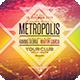 Metropolis Flyer - GraphicRiver Item for Sale