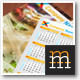 Pocket Calendar Set 2013-2014-2015 - GraphicRiver Item for Sale