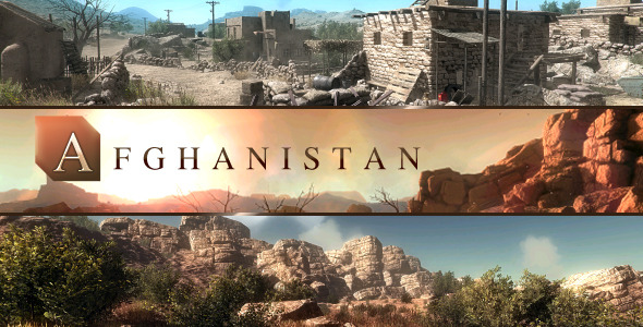 Afghanistan: Middle-East Environment - 3DOcean Item for Sale