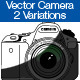 Vector Camera 2 Variations - GraphicRiver Item for Sale