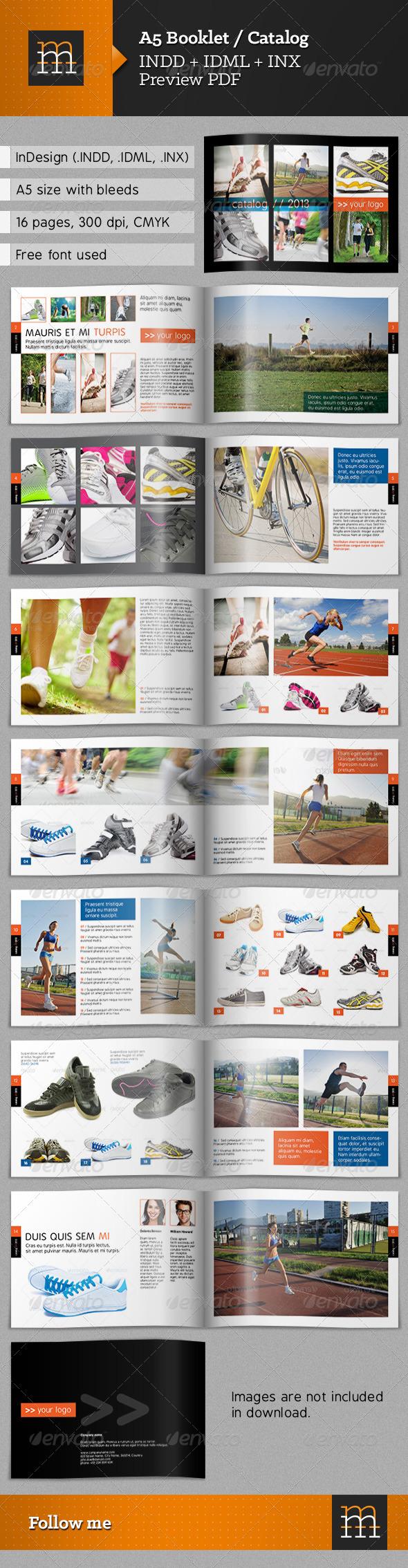 A5 Booklet / Catalog - Catalogs Brochures
