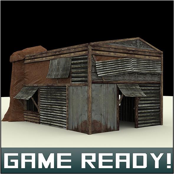 Slums Building #1 - 3DOcean Item for Sale