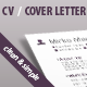 Print template for CV and Cover Letter - GraphicRiver Item for Sale