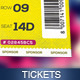 Event Tickets Template - GraphicRiver Item for Sale