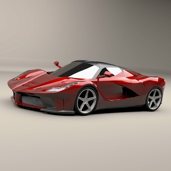 La ferrari supercar restyled - 3DOcean Item for Sale