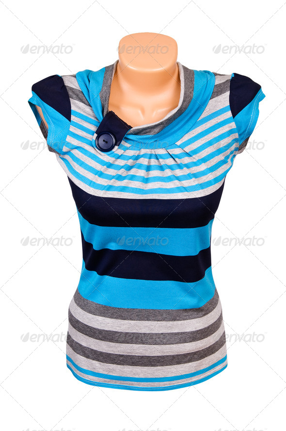 Modern vest on the white. - Stock Photo - Images