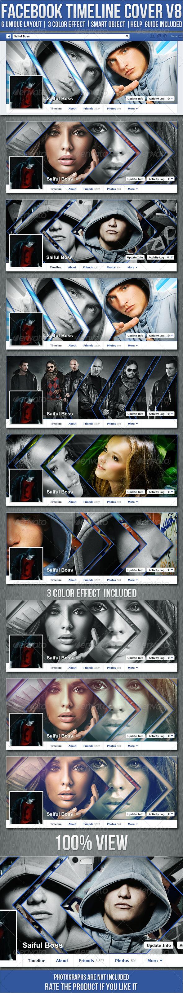 FB Timeline Cover V8 - Facebook Timeline Covers Social Media