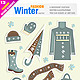 Winter Clothes - GraphicRiver Item for Sale