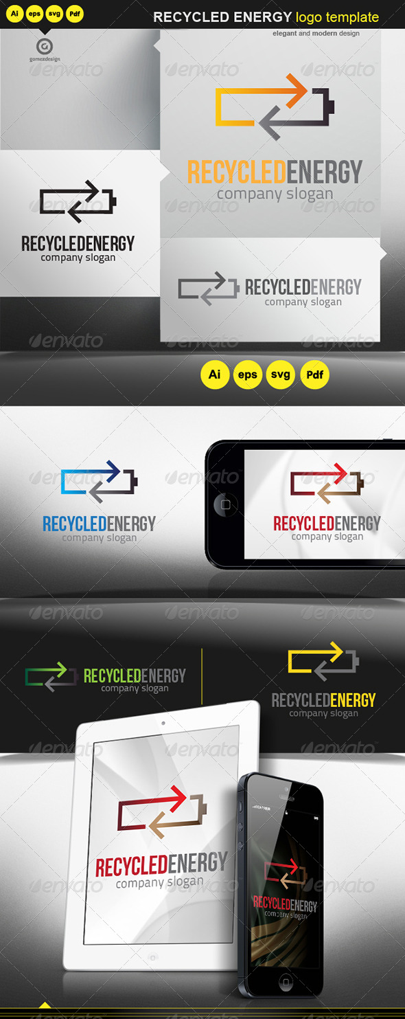 Recycled Energy - Logo Templates