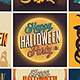 Halloween Posters Set - GraphicRiver Item for Sale