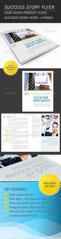Success Story Brochure / Flyer - Corporate Flyers