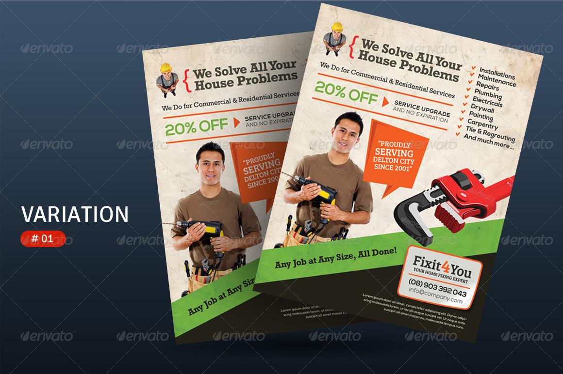 service flyers