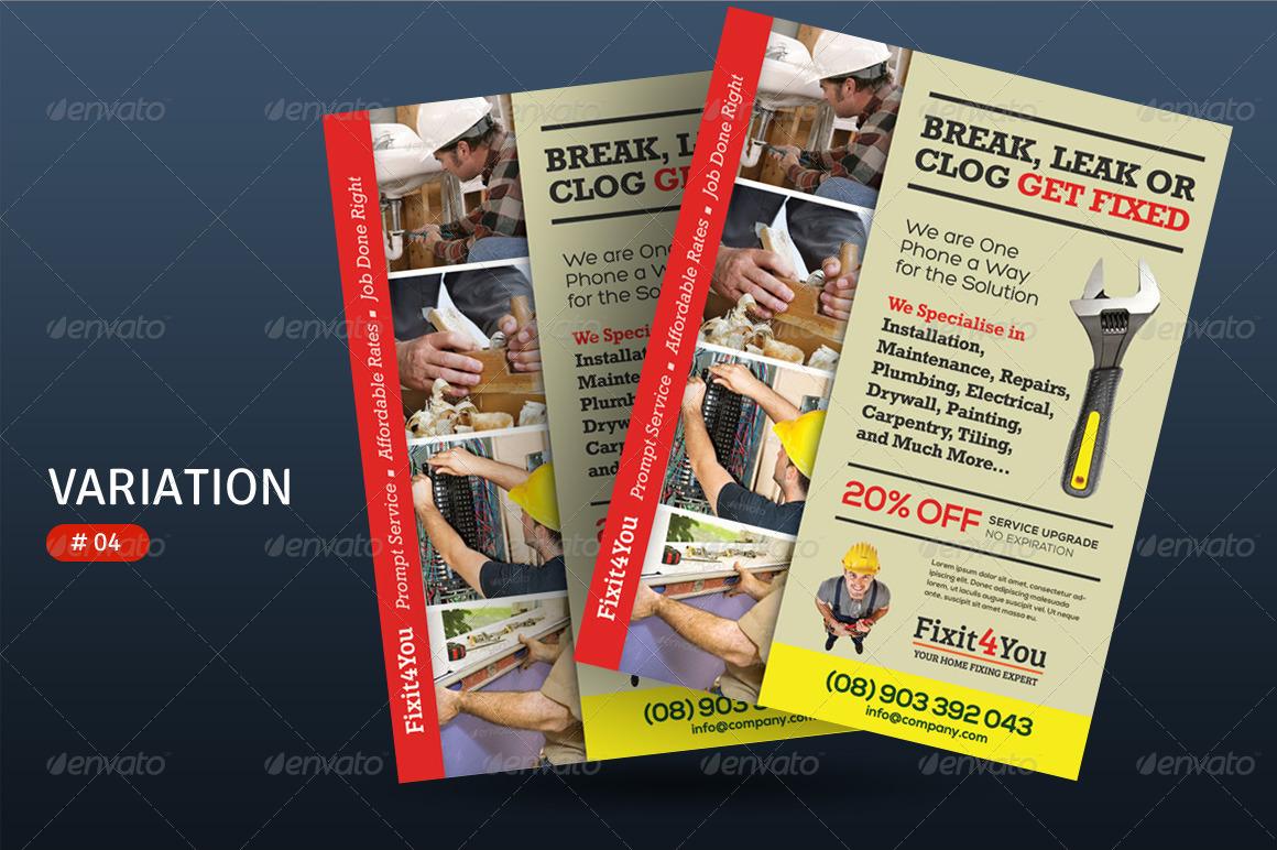 handyman ads sample | template