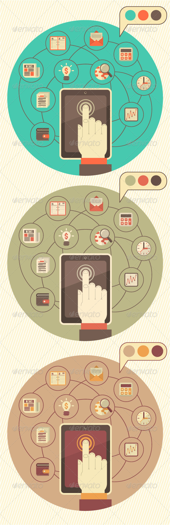 Tablet as a Tool for Business - Concepts Business