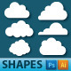 Cloud Shapes - GraphicRiver Item for Sale
