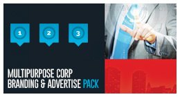 Multipurpose Corporate Branding & Advertisement Pack