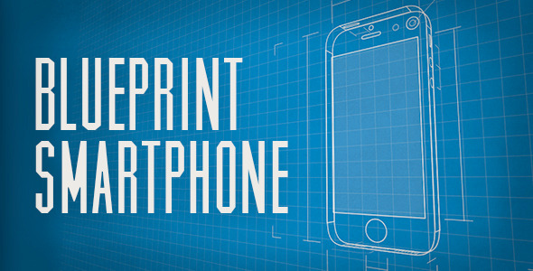 Blueprint smartphone by carlb videohive play preview video malvernweather Choice Image