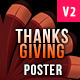 Thanksgiving Party Poster and Flyer - GraphicRiver Item for Sale