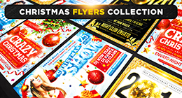 Christmas & New Year Posters & Flyers Collection
