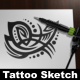 Tattoo Sketch Mock-Up - GraphicRiver Item for Sale