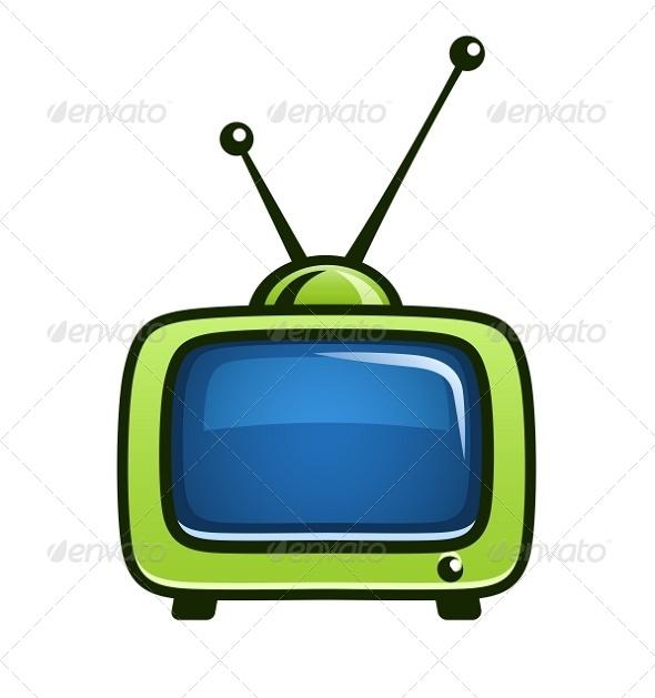 Old Fashioned Tv Cartoon