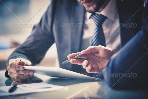 Explaining idea - Stock Photo - Images