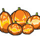 Halloween Pumpkins Vectors Set - GraphicRiver Item for Sale