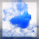 Blue Paint Is Dissolved In Water - VideoHive Item for Sale