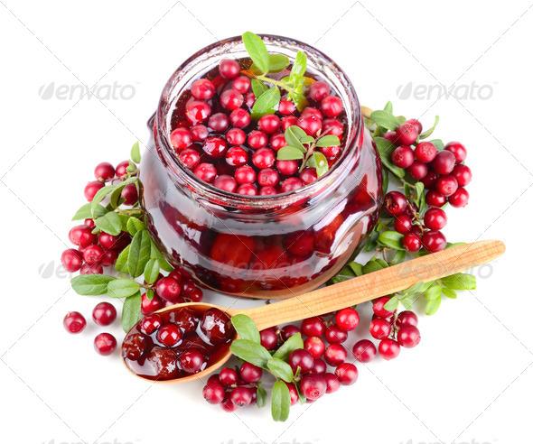 Berry jam - Stock Photo - Images