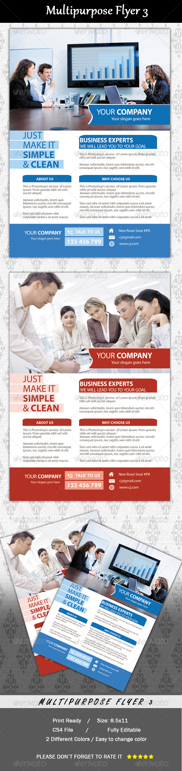 Multipurpose Flyer 3 - Corporate Flyers