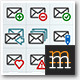 100 Vector Mail Icons  - GraphicRiver Item for Sale