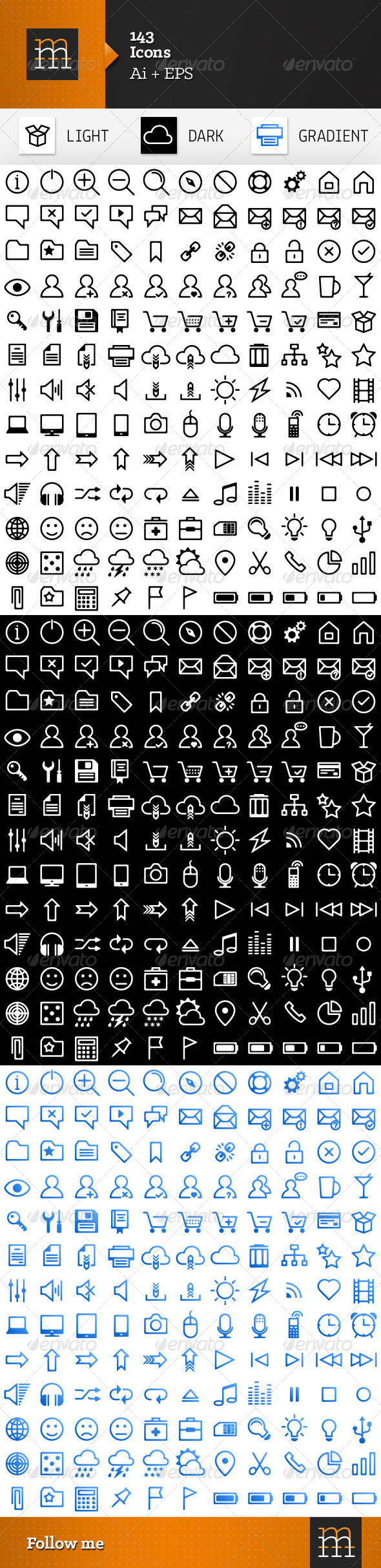 143 Vector Icons - Icons