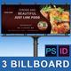 Restaurant Business Billboard | Volume 13 - GraphicRiver Item for Sale