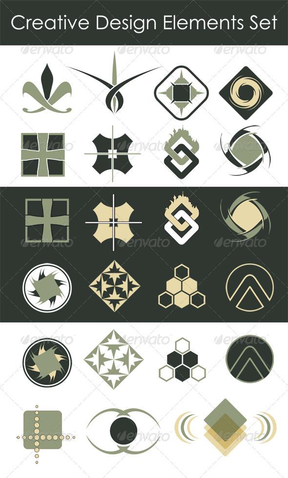 Creative Design Elements Collection - Abstract Conceptual