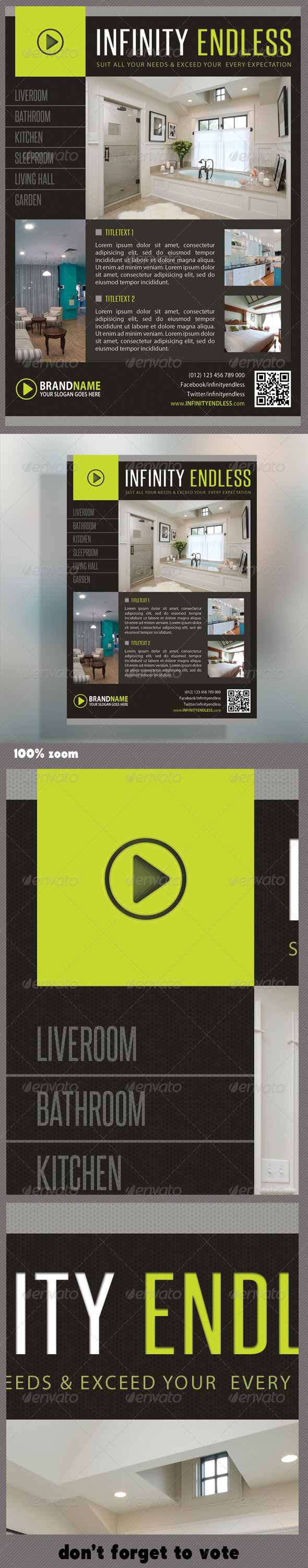 Corporate Product Flyer 28 - Corporate Flyers