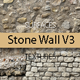 Old Stone Wall Surfaces Texture Backgrounds V3 - GraphicRiver Item for Sale