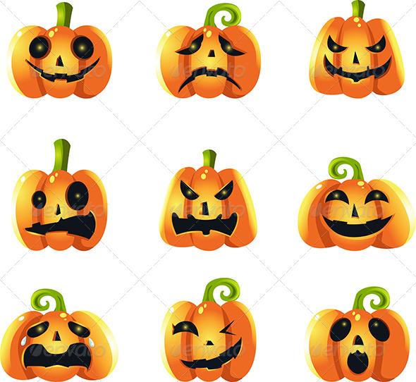 Pumpkins Expressions - Icons