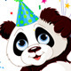 Panda and Balloons - GraphicRiver Item for Sale