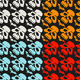 Halloween Seamless Pattern with Skulls - GraphicRiver Item for Sale