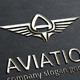 Aviation Letter A Logo - GraphicRiver Item for Sale