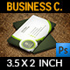 Corporate Business Card Template Vol.34 - GraphicRiver Item for Sale