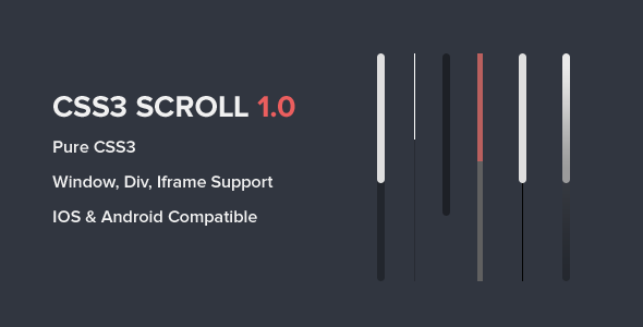 CSS3 Scroll nulled free download