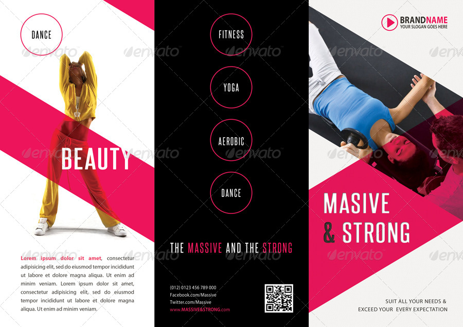 Fitness 3-Fold Brochure 07 By Rapidgraf | Graphicriver