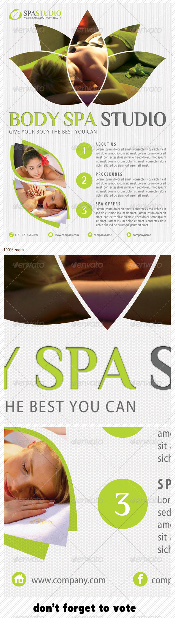 Spa Studio Flyer 12 - Holidays Events