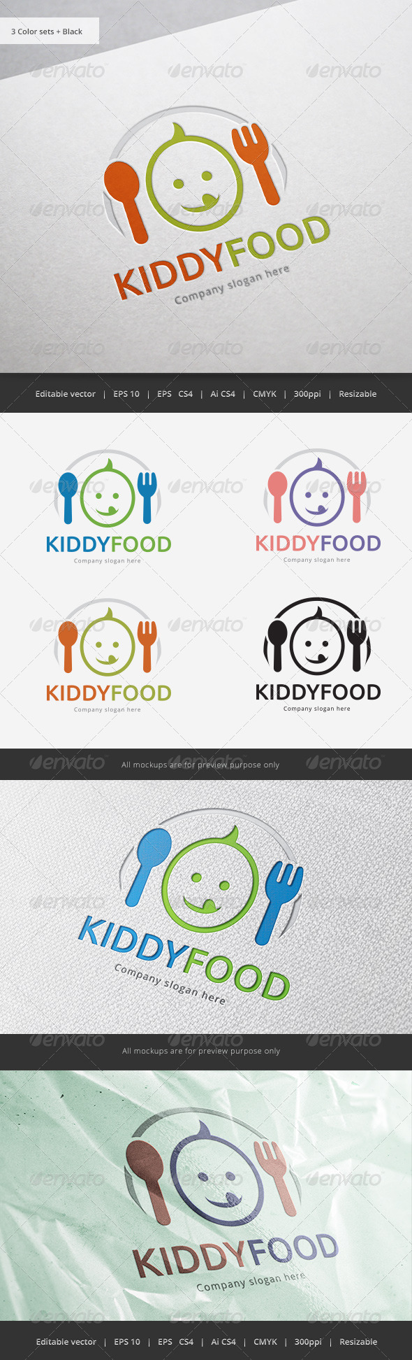 Kid Food Logo