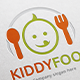 Kid Food Logo - GraphicRiver Item for Sale