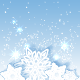Sparkling Christmas Star Snowflake Background - GraphicRiver Item for Sale