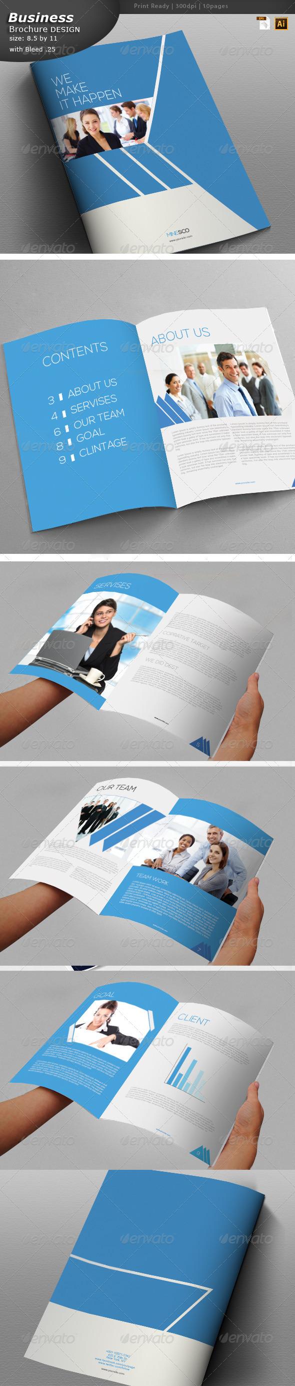 Brochure Design  - Brochures Print Templates