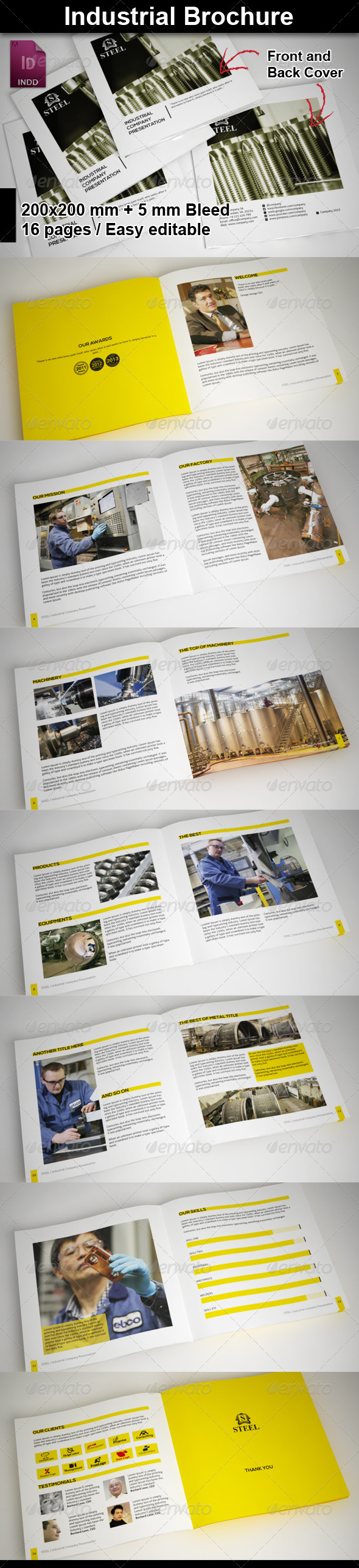 Industrial Brochure - Corporate Brochures