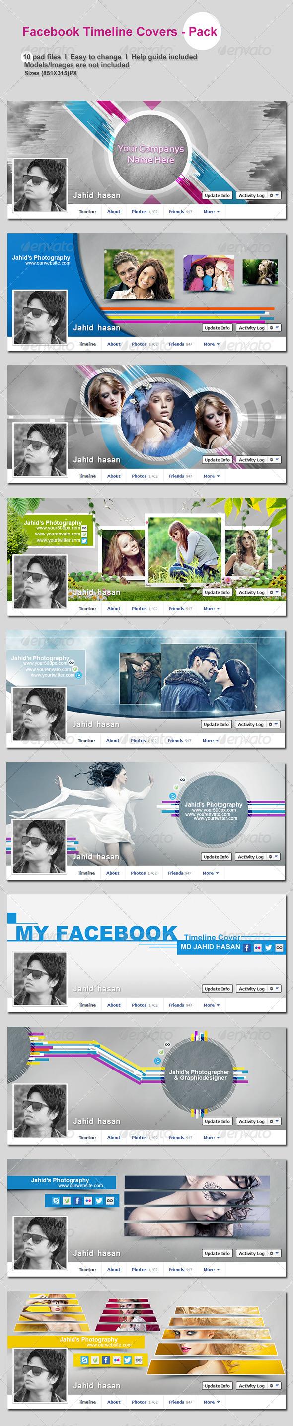 FaceBook Timeline Covers - Pack - Facebook Timeline Covers Social Media